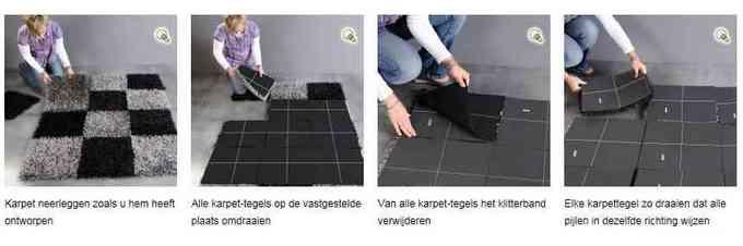 Vloerkleed maken van vloerbedekking  u2013 Ochtend schoonmaakwerk